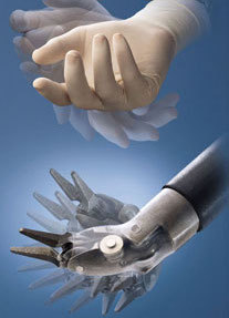 robotic instrument mimicking the human hand